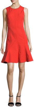 Derek Lam 10 Crosby Fit & Flare Dress