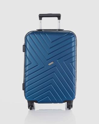 Jett Black Midnight Maze Carry On Suitcase