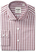 Ben Sherman Men's Exploded Gingham Shirt with Royal Spread Collar