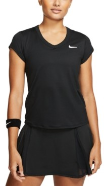 Nike Women's Court Dri-fit Tennis T-Shirt