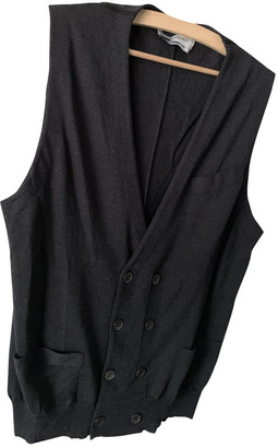 Saint Laurent Grey Wool Knitwear & Sweatshirts