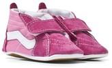 Vans Pink Sk8-Hi Crib Shoes