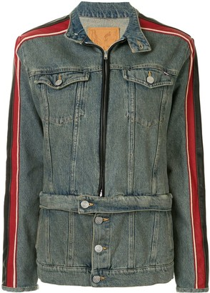 Martine Rose Side Stripe Denim Jacket