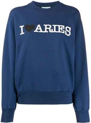 Aries Printed Sweatshirt