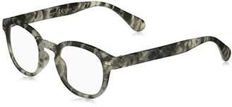 Peepers Unisex-Adult Quarry 2358100 Round Reading Glasses