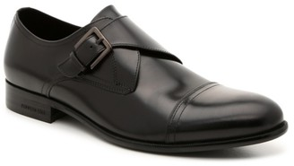 Kenneth Cole New York Captial Cap Toe Monk Strap Slip-On
