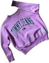 Tommy Jeans Pink Cotton Knitwear for Women