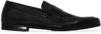 John Lobb Thorne grained-leather loafers
