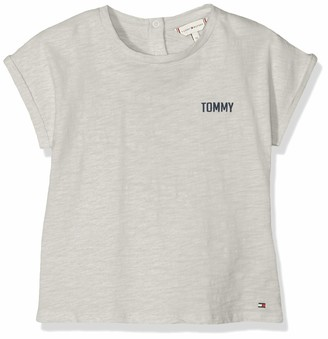 Tommy Hilfiger Baby Girls' Ambition Tommy S/s Tee T-Shirt