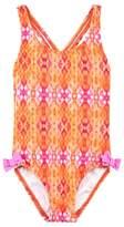 Heidi Klein Print Crossback Swimsuit