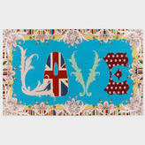 Paul Smith for The Rug Company - Love Too Needlepoint Wallhanging