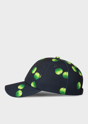 'Green Apple' Print Baseball Cap
