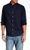 VENROY SYDNEY Linen Long Sleeve Shirt