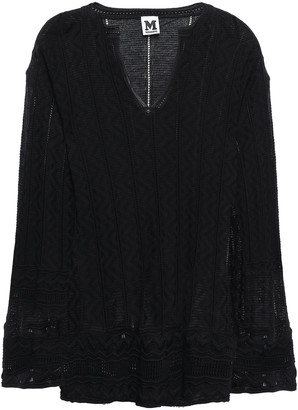 M Missoni Crocheted Wool-blend Top