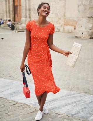Tamara Jersey Wrap Midi Dress