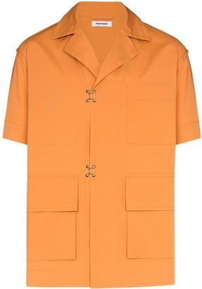 Pronounce pocketed short-sleeved shirt