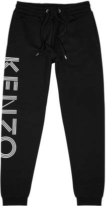 Kenzo Black logo cotton sweatpants