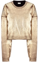 Saint Laurent Metallic sweatshirt