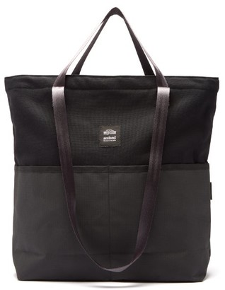 Sealand - Swish Large Upcycled-canvas Tote Bag - Mens - Black