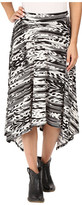 Roper 0431 Feather Ikat Printed Jersey Skirt