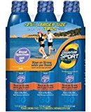 Coppertone Sport High Performance Continuous Spray, 3 Pack