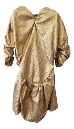 Vivienne Westwood Gold Cotton Dresses
