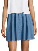 French Connection Laurie Denim Mini Skirt
