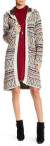 Angie Hooded Open Cardigan