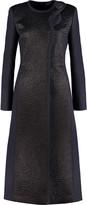 Roksanda Evanton mohair-paneled wool-blend coat