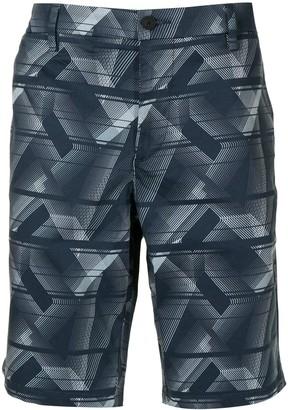 HUGO BOSS All-Over Print Chino Shorts