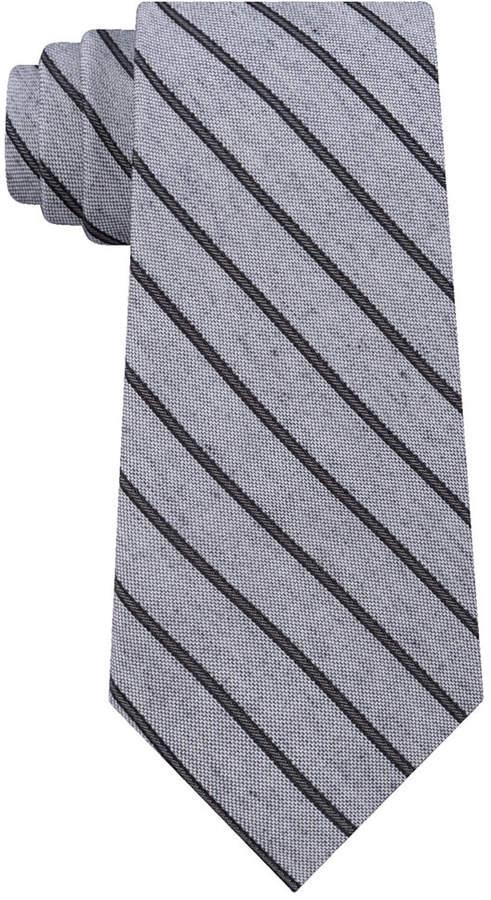 Calvin Klein Men Slim Stripe Tie