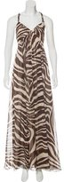 BCBGMAXAZRIA Silk Maxi Dress