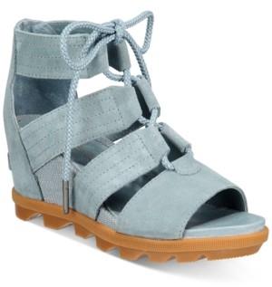 Sorel Joanie Ii Lace-Up Wedge Sandals Women's Shoes