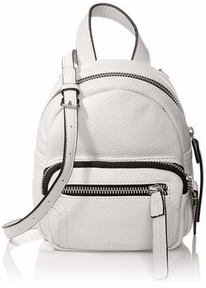 s.Oliver (Bags) 39.907.94.2879 Womens Backpack Handbag White (White/Black) 4.5x17x15 centimeters (B x H x T)