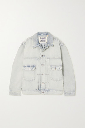 Levi's Made & Crafted Love Letter Pintucked Denim Jacket - Light denim