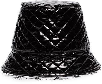 Maison Michel Souna vinyl-effect bucket hat