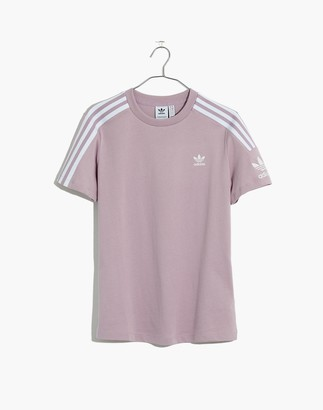 Madewell Adidas Three-Stripes Logo Lock Up Tee