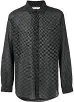 Saint Laurent printed long sleeve shirt