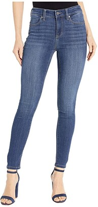 Liverpool Abby Ankle Skinny in Silky Soft Stretch Denim in Bronte (Bronte) Women's Jeans