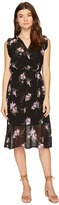 BB Dakota Sarah Sheer Printed Dress Women's Dress