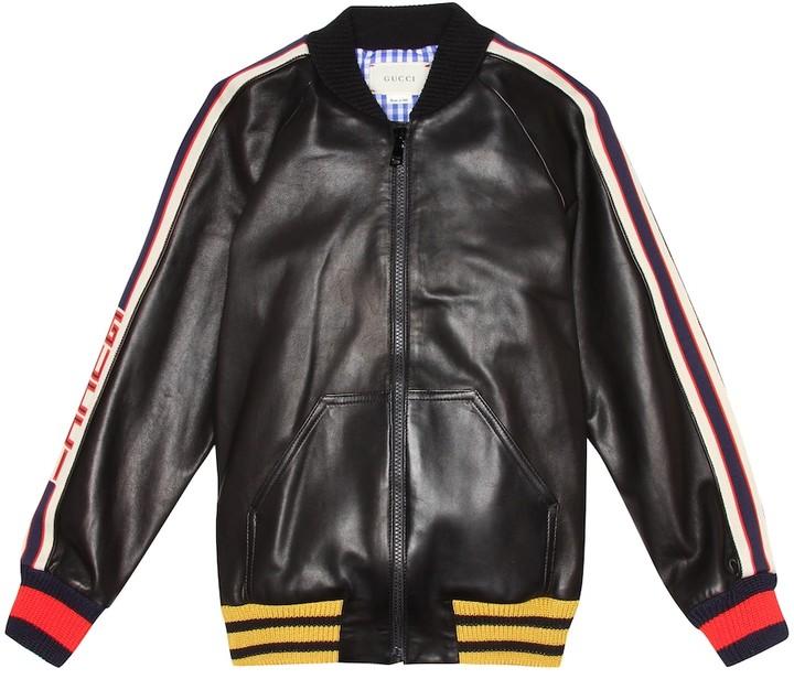 fe6982973 Kids Leather Jacket - ShopStyle