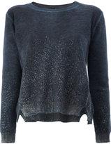 Avant Toi flocked jumper - women - Cashmere - XS