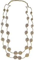 Bernard Delettrez Four-Leaf Clovers Bronze Necklace