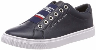 Tommy Hilfiger Tommy Elastic City Sneaker Womens Low-Top Sneakers Low-Top Sneakers