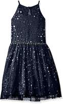 Amy Byer Big Girls' Star of the Party Dress