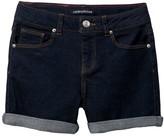 Calvin Klein Cuff Denim Shorts (Big Girls)
