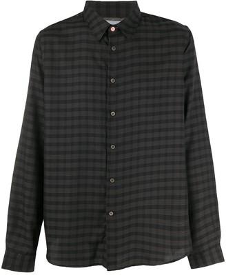 Paul Smith Long Sleeve Check Print Shirt