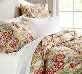 Pottery Barn Leslie Floral Reversible Comforter & Sham