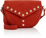 Saint Laurent Women's Besace Small Saddle Bag-RED