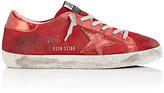 Golden Goose Deluxe Brand Women's Superstar Suede & Leather Sneakers-RED